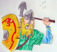 Horrible Histories - Viking by lizzib7292