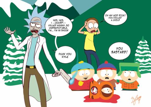 OMG You killed Kenny by Neon-Lady