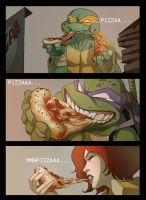 Pizza time part 1 by ultrachicken