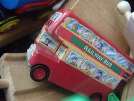 Red Bus by bec66ky