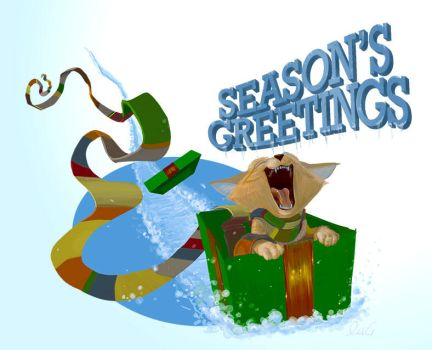 ChristmasCard-2013 by feeves