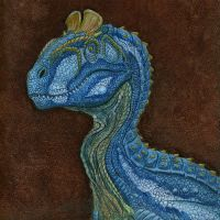 Cryolophosaurus by Art-Minion-Andrew0
