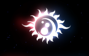Moon-sun-stars Wallpaper by zavraan