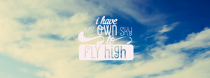 I have my own sky to fly high by JeedoriFox