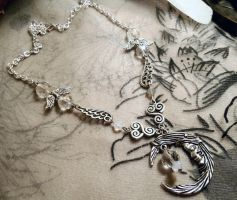 Tears of Artemis-Necklace by Destinyfall