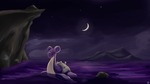 Lapras at Night by prankster-kun