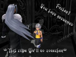My beloved Father Sephiroth by FallenAngelRiku