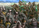 Battle of the Pelennor Fields - Color by mentat0209