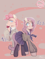 MLP NG: Cherry And Berry by 8BitAmy