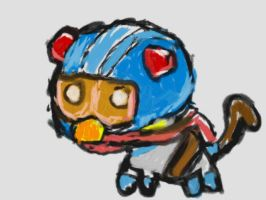 Bing Monkey for CaptainAyon by Duskus