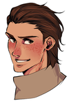 snk oc: freckled faust by fancy-finch by Caustic-Creations