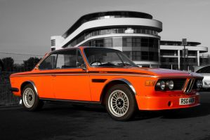 BMW 3.0 CSL, Orange by FurLined