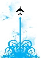 Symmetrical airplane. by paperairplane