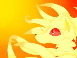 Ninetales by FlareMor