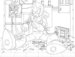 Maintenance Protoman by nogiho