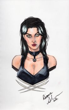 X-23 bust sketch by mechangel2002