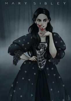 Mary Sibley by Ninidu