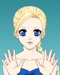 Elsa From Frozen - Anime by The-Zombie-Hunter