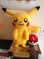 Pikachu Amigurumi Crochet Pokemon by Mr-Nova