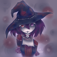 Untitled Rag Witch by silverei