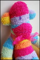 Rainbow Sock Monkey by Photogenic5