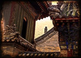 Wutai Shan, China, spring 2008 by PretendtoBelieve