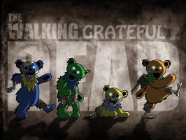 The Walking Grateful Dead by uNeVeN-dOzEn