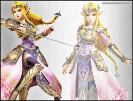 Hyrule Warriors - Princess Zelda by Skylight1989