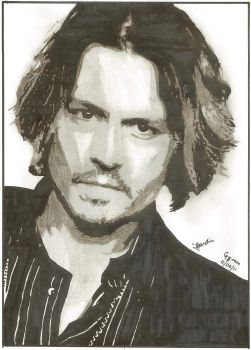 Johnny Depp by Gg-rem
