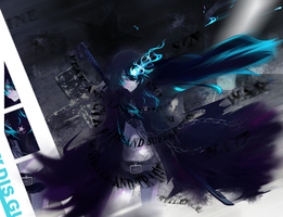 Black Rock Shooter worm entry by bli08