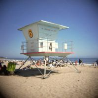 Lifeguard Tower by fishtankbabe