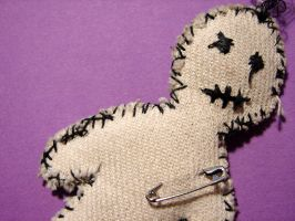 Voodoo Doll 3 by punksafetypin