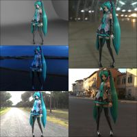 Music Girl Miku IRL Renders pack by Kukla-Factory