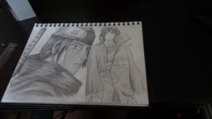 itachi drawings ^.^ by Xezn