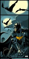 Batman by skam4