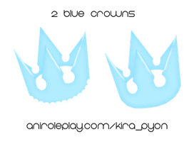 Blue-Crowns by HizzaBabeh