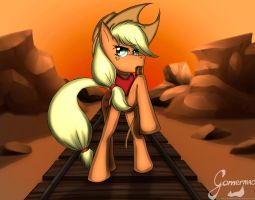 .:Applejack:. by Gamermac