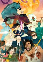 X-men by kevinwada