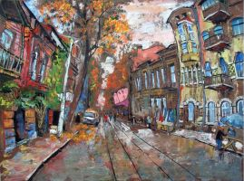 One street in Rostov-on-Don by KaterinaPo