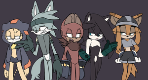 The Gang by Un-Genesis