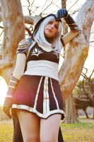 Ashe Cosplay - first shot by Eressea-sama