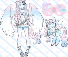 Character Auction - Angel Alicorn - over by TehButterCookie
