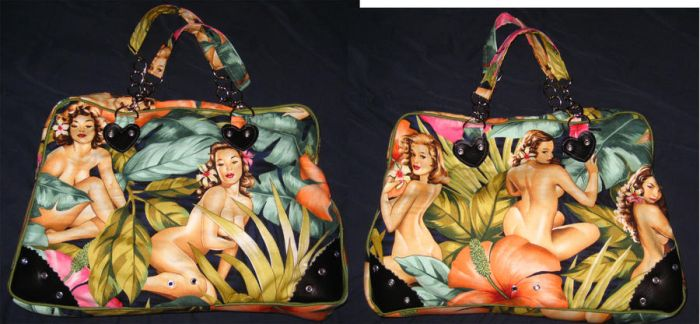 Pin-Up Purse by BoredomKillsPie