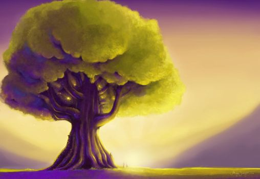 Giant Tree by MarZu