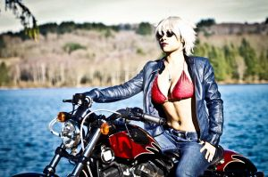 Biker Girl by Fred-Image
