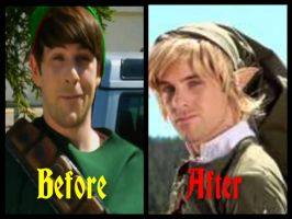 Smosh-Link before and after by BrookeCPhotography