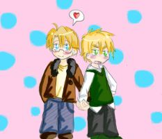 APH: I Wanna Hold Your Hand by freaky-anime-doodler