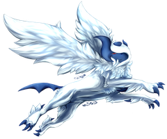 Pokemon time 11 Mega absol for Damnatiion by shinayra