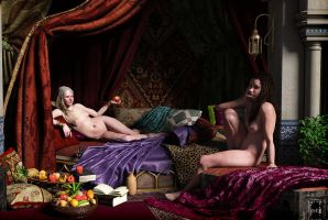 The Odalisque (Final result) by erogenesis-art