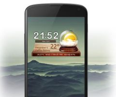 MagicBall Weather for Android by xwidgetsoft